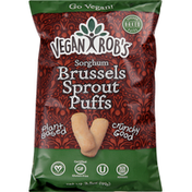 Vegan Rob's Sorghum Puffs, Brussels Sprout
