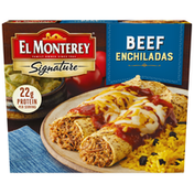El Monterey Signature Frozen Entrée Beef Enchiladas