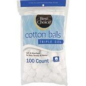 Best Choice Triple Size Cotton Balls