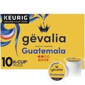 Gevalia Special Reserve Guatemala Single Origin Medium Roast K-Cup Coffee Pods