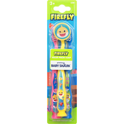 Firefly Toothbrush, Soft, Value Pack + Cap, 3+