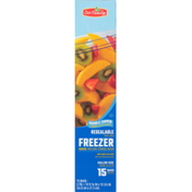 Our Family Snap & Seal Freezer Bags