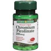 Nature's Bounty Chromium Picolinate 200 Ug Dietary Supplement