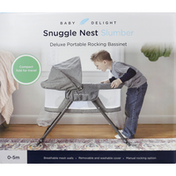 Baby Delight Bassinet, Deluxe, Portable, 0-5 Months