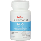 Hy-Vee Healthmarket, Mgo 400 Mg Pharmaceutical Grade Mineral Supplement Tablets