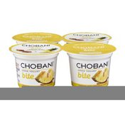 Chobani Bite Caramel With Pineapple Chunks Low Fat Greek Yogurt