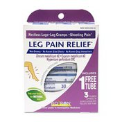 Boiron Leg Pain Relief, 80-Pellet Tubes, Homeopathic Medicine to Relieve Restless Legs Leg Cramps and Shooting Pain, Blue
