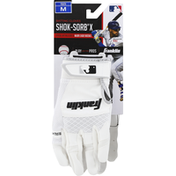 Franklin`s Teleme Batting Gloves, Shok-Sorb X, Youth, Medium