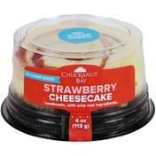 Chuckanut Bay Foods No Sugar Added Strawberry Mini Cheesecake