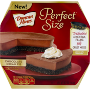 Duncan Hines Perfect Size Chocolate Dream Pie Filling and Crust MIxes