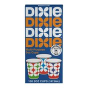 Dixie Paper Cups, 5 oz Bathroom Cup (Designs May Vary)