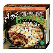 Amy's Kitchen Frozen Bowls, Mexican Casserole, Light In Sodium, Gluten free