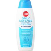 Rid Shampoo & Conditioner, Lice, Daily Defense