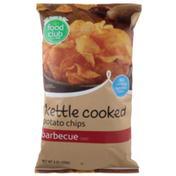 Food Club Barbecue Flavored Kettle Cooked Potato Chips