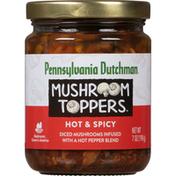 Pennsylvania Dutchman Mushroom Toppers, Hot & Spicy