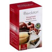 Revolution Tea Tea, White, Pomegranate, Box