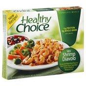 Healthy Choice Shrimp Diavolo, Spicy