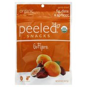 Peeled Dried Fruit Snacks, Organic, Go Figure