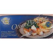 Quality Foods Ocean Perch Fillets, Low Fat