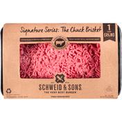 Schweid & Sons Ground Beef, 75%/25%, Signature Series The Chuck Brisket