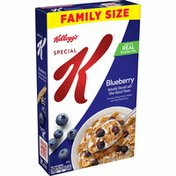 Kellogg's Special K Breakfast Cereal, 11 Vitamins and Minerals, Blueberry