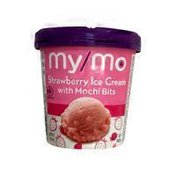 My Mo Strawberry Ice Cream With Mochi Bits