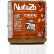 NuttZo 7 Nut & Seed Butter, Paleo, Power Fuel Smooth