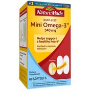 Nature Made Burpless Mini Omega-3††