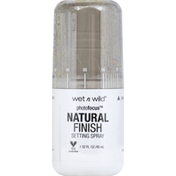 wet n wild Setting Spray, Natural Finish, Seal the Deal 301A