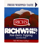 Rich's RichWhip Non-Dairy Topping Lactose Free