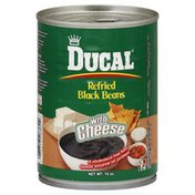 Ducal Black Beans, Refried, with Cheese