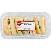 Ukrops Chicken Salad on White House Rolls,