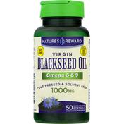 Nature's Reward Blackseed Oil, 1000 mg, Softgels