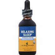 Herb Pharm Relaxing Sleep, Nervous System