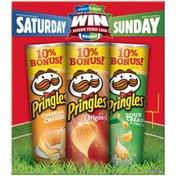 Pringles Cheddar Cheese/The Original/Sour Cream & Onion Value Pack Potato Crisps