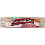 Brownberry/Arnold/Oroweat Sandwich Thins, 100% Whole Grain