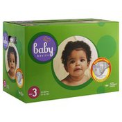 Baby Basics Diapers, Ultra Absorbent, Size 3 (16-28 lbs)