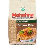 Mahatma Organic Brown Rice