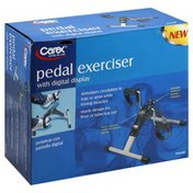 Carex Pedal Exerciser, with Digital Display