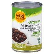 Wild Harvest Tri Bean Blend, Organic