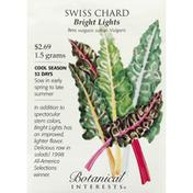 Botanical Interests Seeds, Swiss Chard, Bright Lights