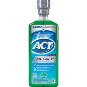 ACT Fluoride Mouthwash, Mint, Anticavity