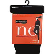 No nonsense Leggings, Seamless Layering, XL, Black WZD