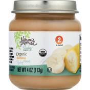 Nature's Promise Organic Banana Baby Food