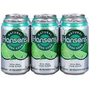 Hansen's Key Lime Twist Natural Cane Soda