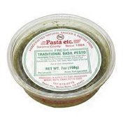 Pasta Etc. Traditional Basil Pesto Sauce