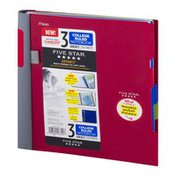 Mead Five Star 3 Subject College Ruled Notebook - 150 Sheets