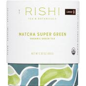 Rishi Tea Green Tea, Organic, Matcha Super Green, Loose
