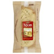 Tuscan Flatbread, Savory Garlic with Tasty Herb Butter