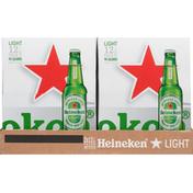 Heineken Beer, Premium, Malt Lager, Light